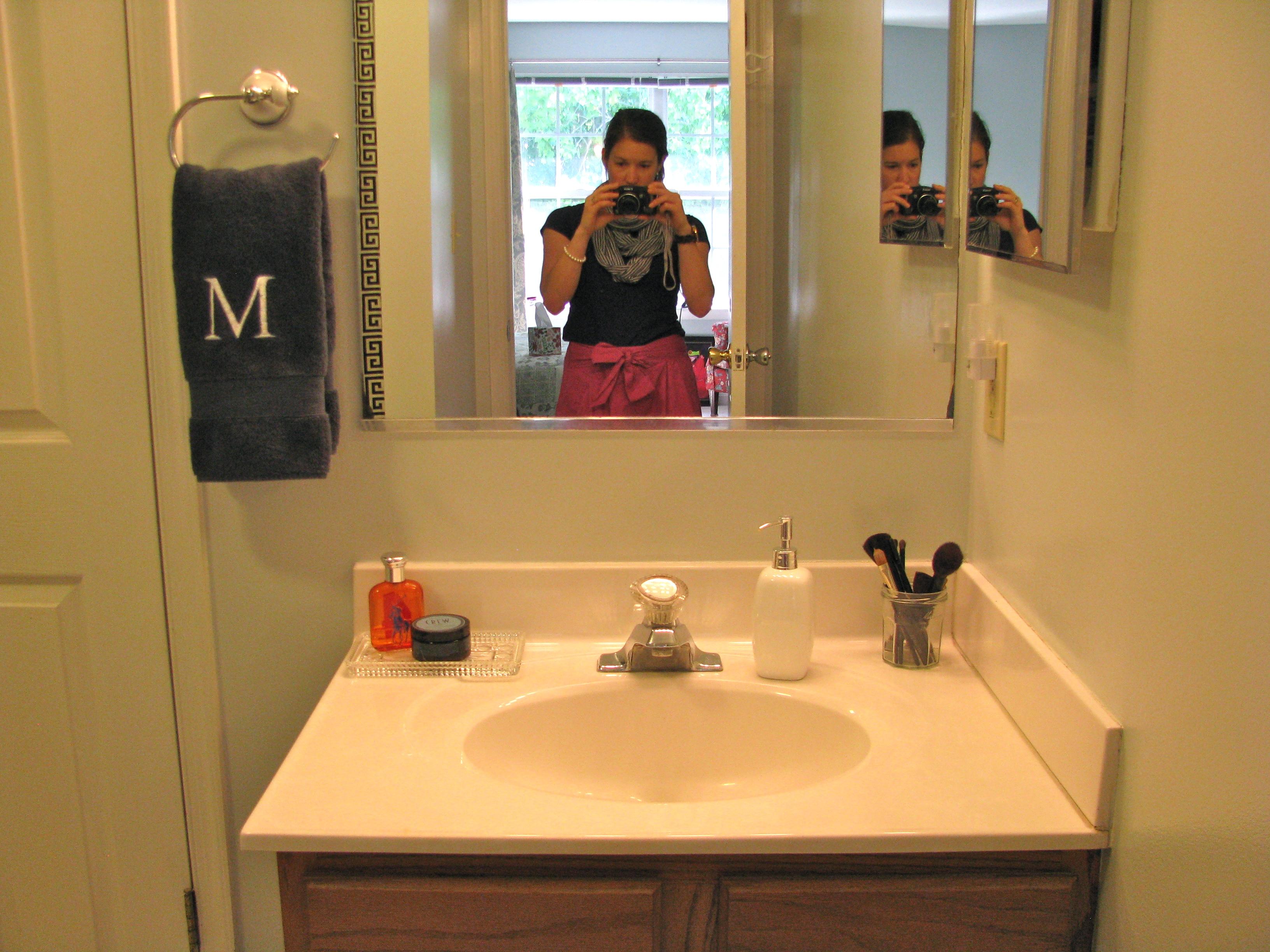 Standard height of bathroom towel bar - Image