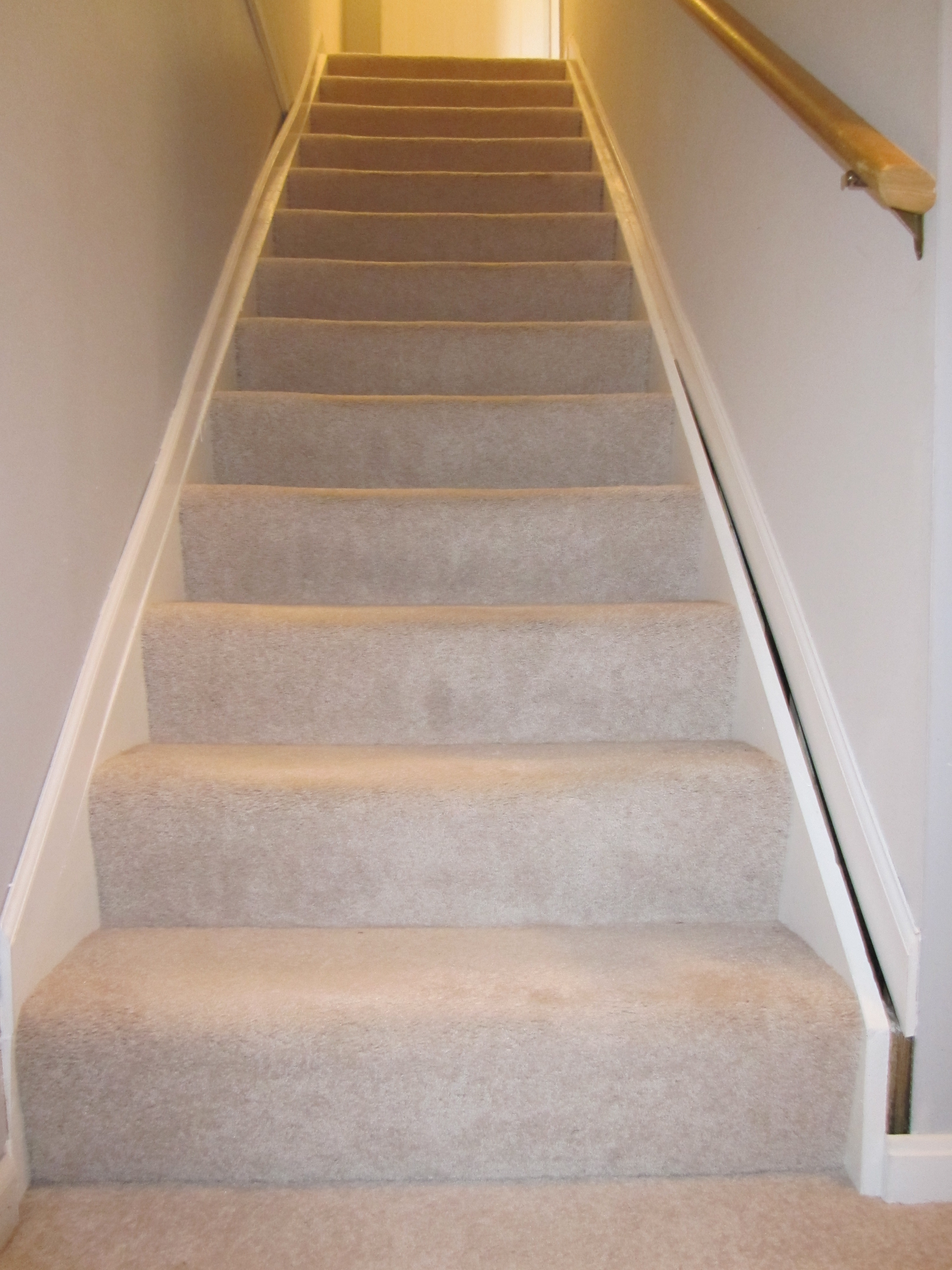 here are the stairs leading down into the basement as you can see
